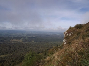 Climbing Puy de Dôme