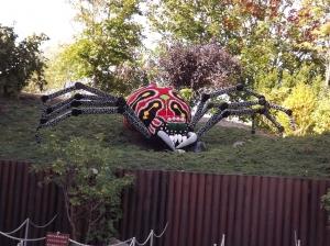 Someone with arachnophobia?