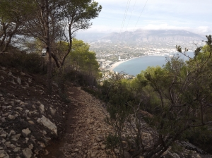 A bit closer to the sea level with every step