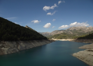 At the Guadalest Dam