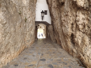 At the Guadalest Castle