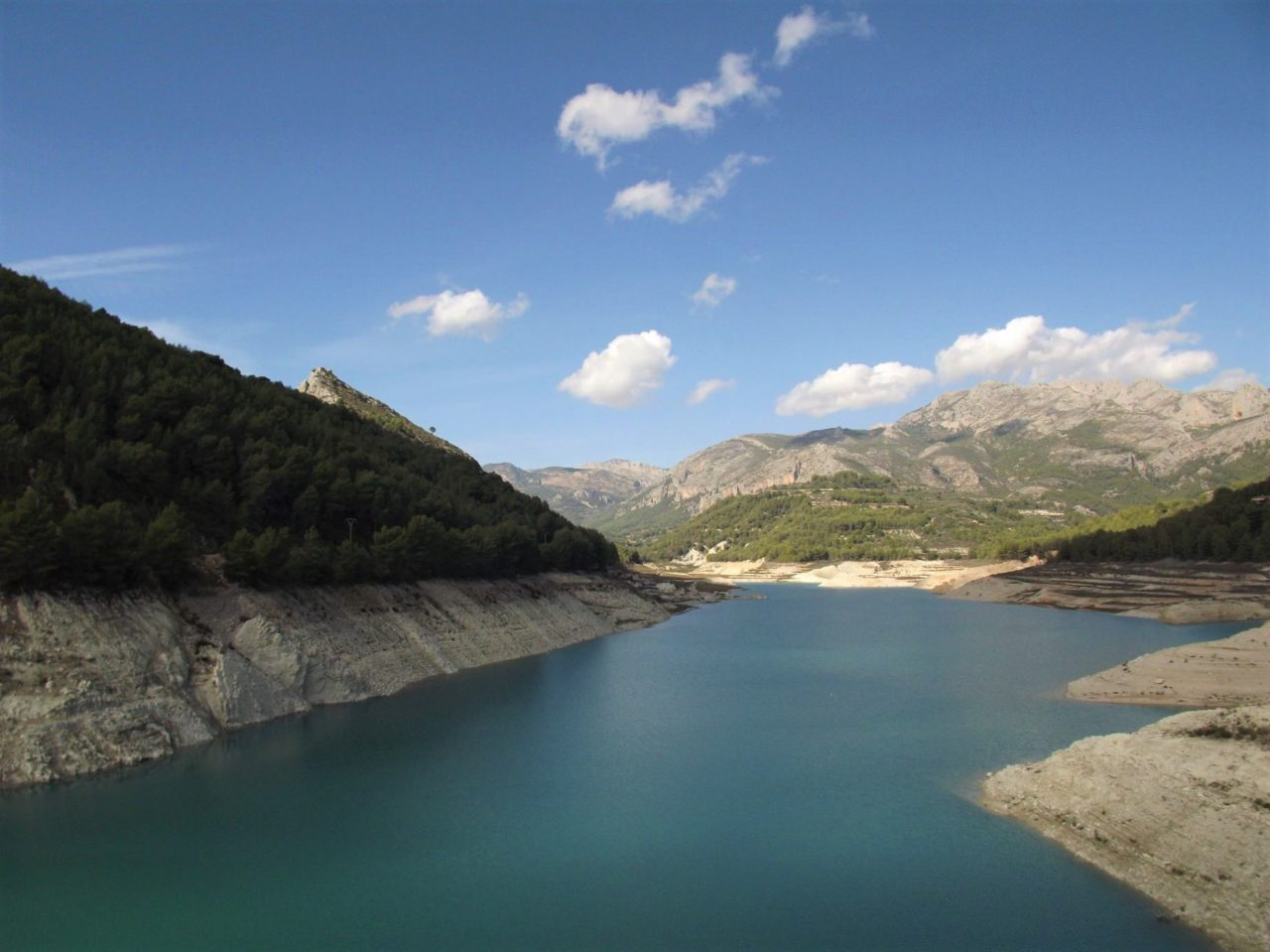 The view from the dam in Guadalest
