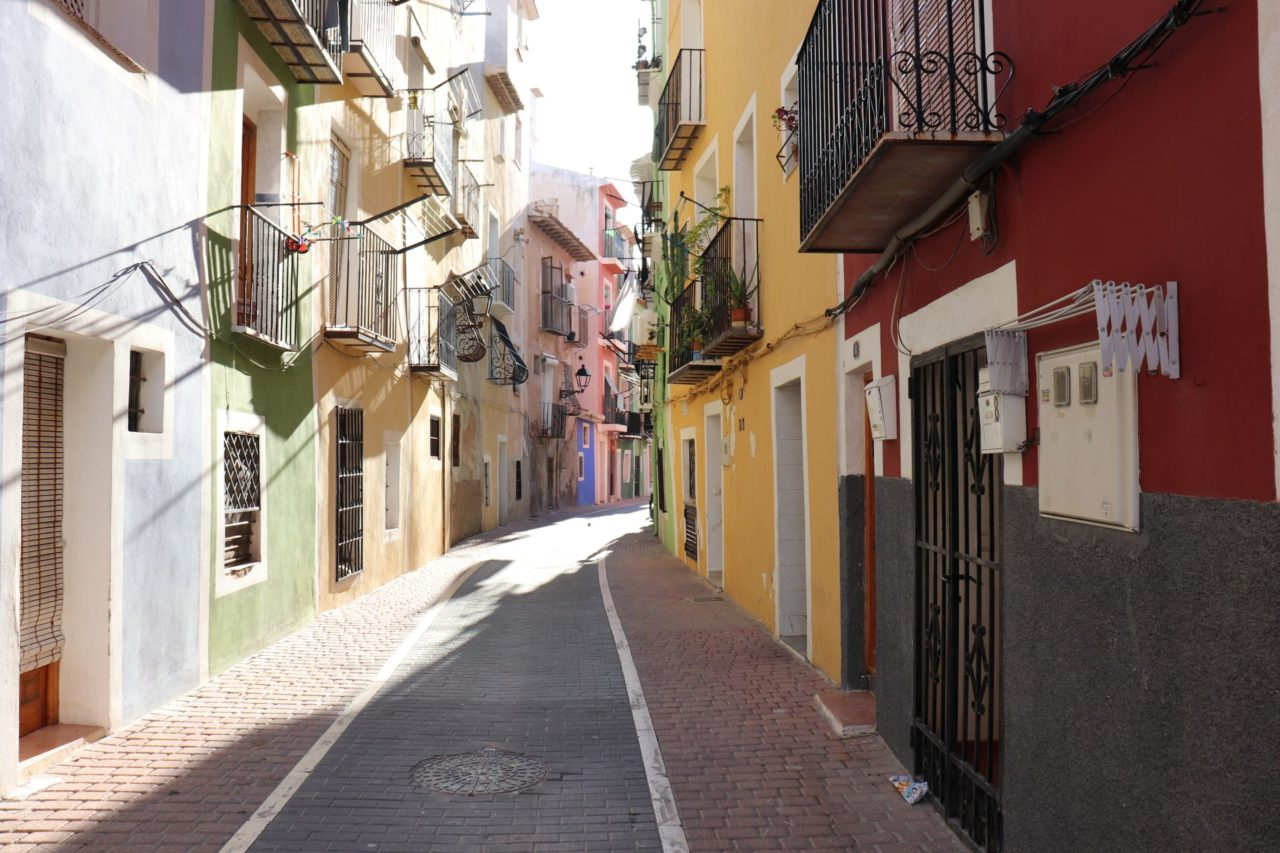 Villajoyosa street