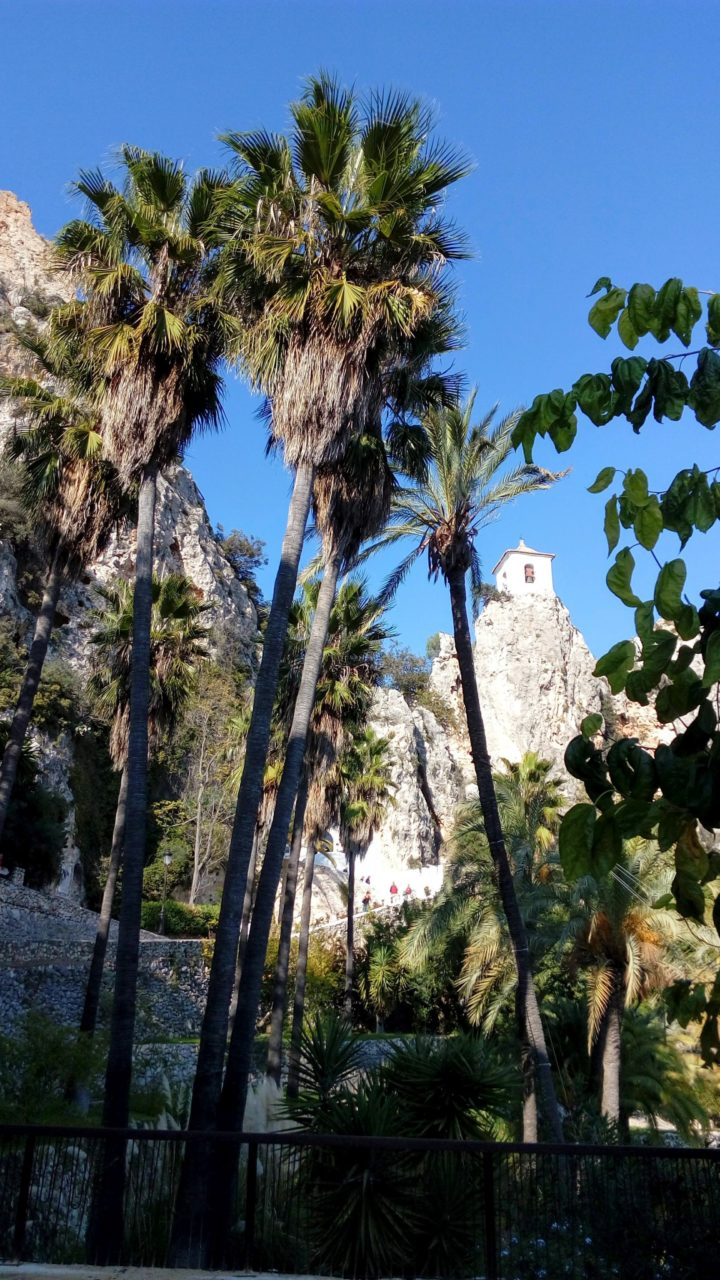 Castle in Guadalest