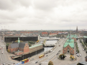 Copenhagen from the tower.