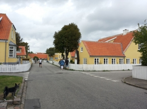 Yellow houses in Skagen