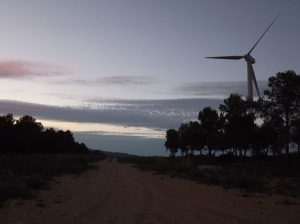 Day 7. Through France and Spain. The night with windmills. 7