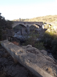 The old bridge at N340 road
