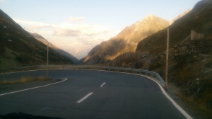Day 4. Driving through Germany and Austria to Swiss Davos. 4