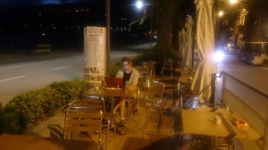 A beer in Sanremo