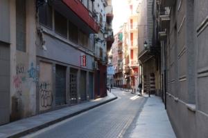 Alicante´s streets.