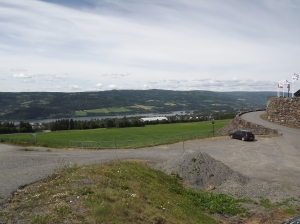 The view of Lillehammer