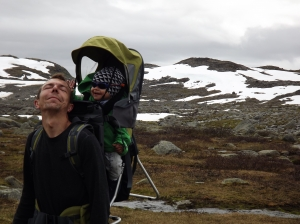 Looking for a glacier in Jotunheimen Nasjonalpark - day 4 5