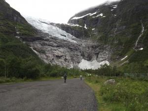Approaching Bøyabreen