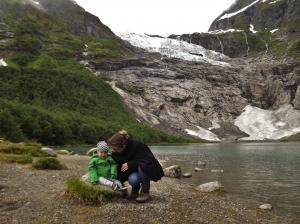 Lodowce odnalezione! Jostedalsbreen Nasjonalpark - dzień 5. 14