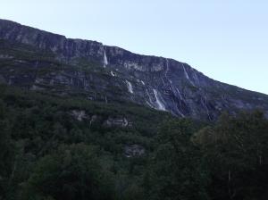 Plenty of waterfalls everywhere