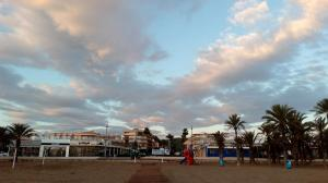 On Javea's promenade
